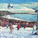© Jean-François Racine – Tableau de Ski