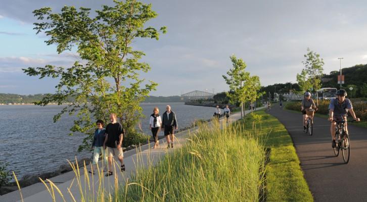 Promenade Samuel-De Champlain - Ville de Quebec ©Chantal Gagnon