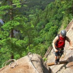 ©Via Ferrata - Mont-Tremblant