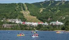 Montagne et kayaks