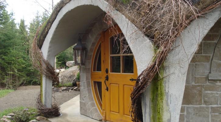 Maison Hobbit ©Entre Cimes et Racines