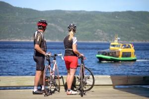 Véloroute du Fjord du Saguenay ©Paul Cimon