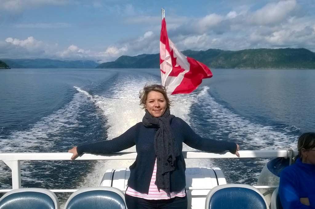 Reportage – Expérience Saguenay de la gagnante du concours au Québec